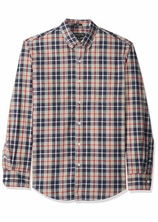 J.Crew Mercantile Men's Slim-Fit Long-Sleeve Plaid Shirt  XS