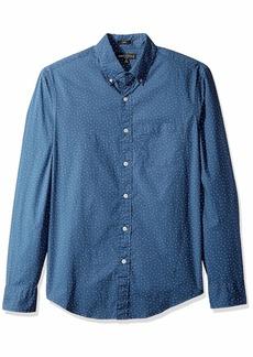 J.Crew Mercantile Men's Slim-Fit Long-Sleeve Printed Shirt  M