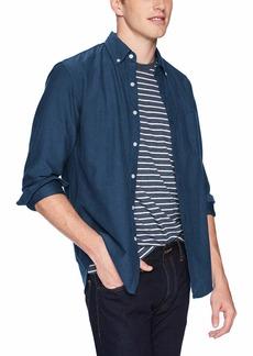J.Crew Mercantile Men's Slim-Fit Long-Sleeve Solid Oxford Shirt  S