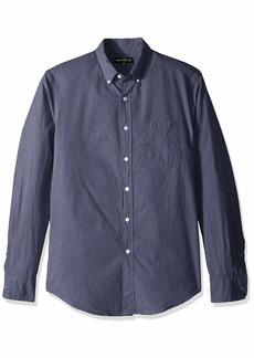 J.Crew Mercantile Men's Slim-Fit Long-Sleeve Solid Shirt  XL