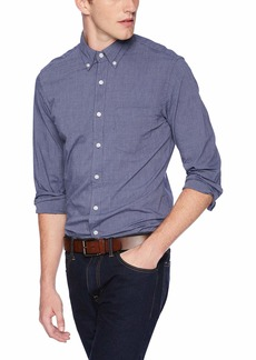 J.Crew Mercantile Men's Slim-Fit Long-Sleeve Solid Shirt  XXL