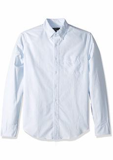 J.Crew Mercantile Men's Slim-Fit Long-Sleeve Striped Oxford Shirt  XXL