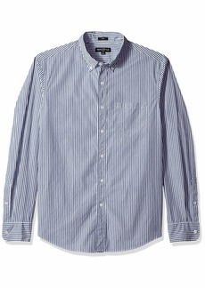 J.Crew Mercantile Men's Slim-Fit Long-Sleeve Striped Shirt  L