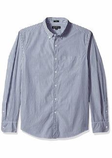 J.Crew Mercantile Men's Slim-Fit Long-Sleeve Striped Shirt  XL