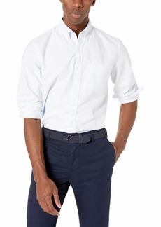 J.Crew Mercantile Men's Slim-Fit Long-Sleeve Striped Shirt  L