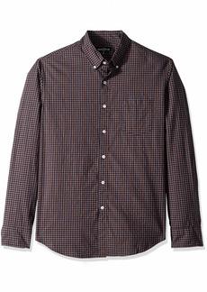 J.Crew Mercantile Men's Slim-Fit Long-Sleeve Tattersall Shirt  M