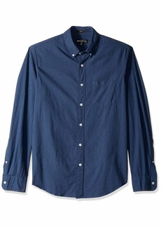 J.Crew Mercantile Men's Slim-Fit Long Sleeve Textured Shirt  L