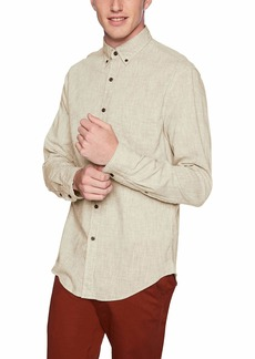 J.Crew Mercantile Men's Slim-Fit Long Sleeve Textured Shirt  M