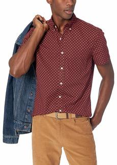 J.Crew Mercantile Men's Slim-Fit Short-Sleeve Floral Shirt  XL