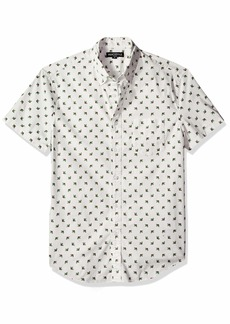 J.Crew Mercantile Men's Slim-Fit Short-Sleeve Graphic Shirt  M