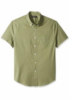 J.Crew Mercantile Men's Slim-Fit Short-Sleeve Graphic Shirt  S