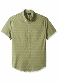 J.Crew Mercantile Men's Slim-Fit Short-Sleeve Graphic Shirt  L