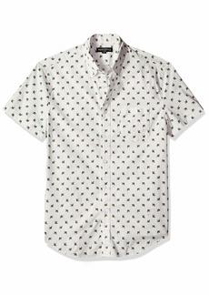J.Crew Mercantile Men's Slim-Fit Short-Sleeve Graphic Shirt  XS