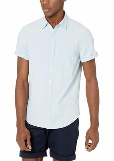 J.Crew Mercantile Men's Slim-fit Short-Sleeve Shirt  S