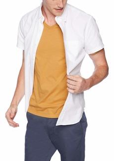 J.Crew Mercantile Men's Slim-Fit Short-Sleeve Solid Oxford Shirt  S