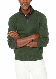 J.Crew Mercantile Men's Supersoft Wool Blend Half-Zip Sweater  M