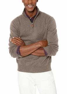 J.Crew Mercantile Men's Supersoft Wool-Blend Half-Zip Sweater  S