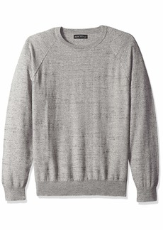 J.Crew Mercantile Men's Textured Cotton Crewneck Sweater  L