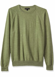 J.Crew Mercantile Men's Textured Cotton Crewneck Sweater  S
