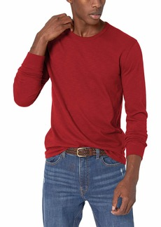 J.Crew Mercantile Men's Textured Cotton T-Shirt red Maple M