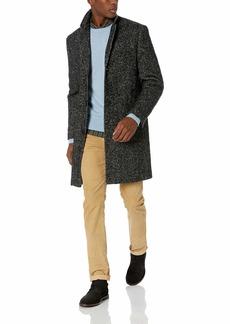 J.Crew Mercantile Men's Wool Herringbone Topcoat Grey