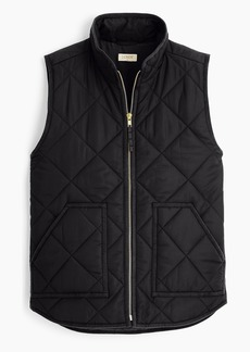 J.Crew Mercantile quilted puffer vest with eco-friendly Primaloft®