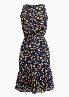 J.Crew Mercantile ruched-waist dress in vintage floral