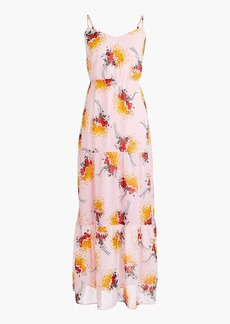J.Crew Mercantile tiered maxi dress in sunburst bouquet print
