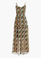 Jcrew jcrew mercantile tiered maxi dress in sweet pea floral abv9aa923e1 a