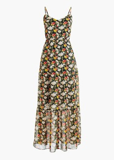 J.Crew Mercantile tiered maxi dress in sweet pea floral