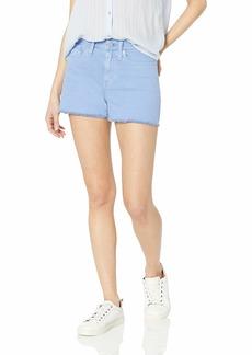 """J.Crew Mercantile Women's 10"""" Cutoff Garment Dyedd Denim Boy Short"""