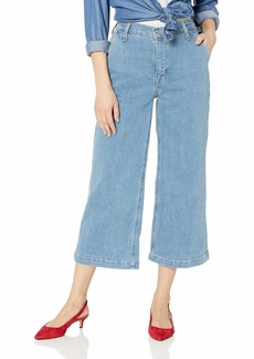 "J.Crew Mercantile Women's 10"" High-Rise Wide Leg Jean"