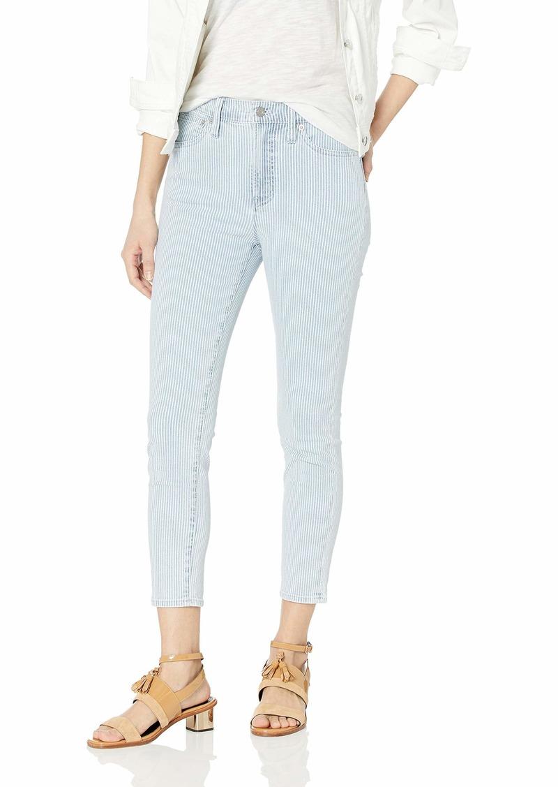 "J.Crew Mercantile Women's 9"" High-Rise Fine Skinny Jean"