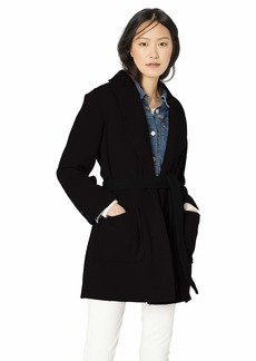 J.Crew Mercantile Women's Belted Wool Wrap Coat  XL