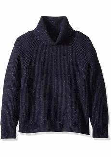 J.Crew Mercantile Women's Chunky Knit Turtleneck Sweater  S