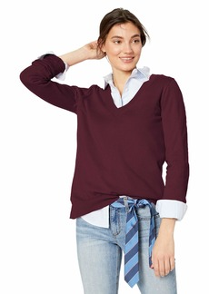J.Crew Mercantile Women's Cotton V-Neck Sweater  XS