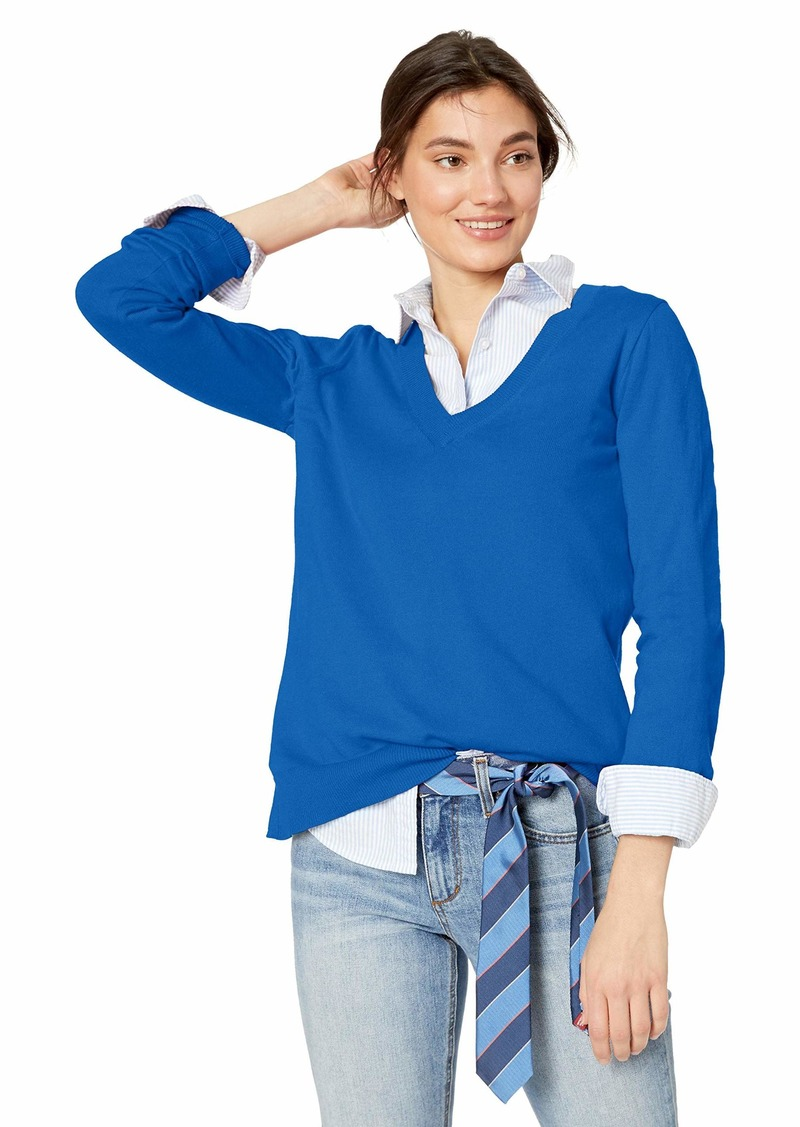 J.Crew Mercantile Women's Cotton V-Neck Sweater  XXS