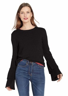 J.Crew Mercantile Women's Crew-Neck Bell Sleeve Sweater  XS