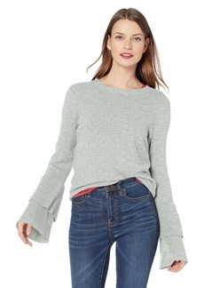J.Crew Mercantile Women's Crew Neck Bell Sleeve Sweater  XXS