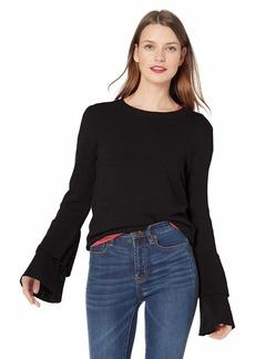J.Crew Mercantile Women's Crew-Neck Bell Sleeve Sweater  XXS