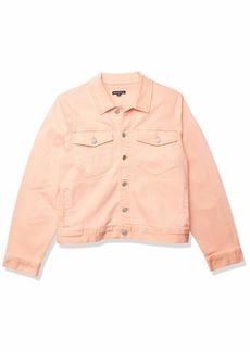 J.Crew Mercantile Women's Cropped Garment-Dyed Denim Jacket  L