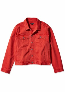 J.Crew Mercantile Women's Cropped Garment-Dyed Denim Jacket  XXS