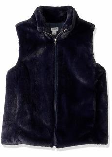 J.Crew Mercantile Women's Faux Fur Vest  XL