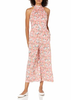 J.Crew Mercantile Women's High-Neck Jumpsuit in Liberty Chamomile