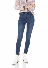 J.Crew Mercantile Women's High-Rise Skinny Jean Classic Blue wash