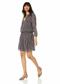 J.Crew Mercantile Women's Long-Sleeve Smocked Tie-Front Dress