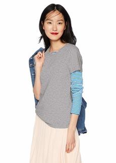 J.Crew Mercantile Women's Plus Size Short Sleeve Crewneck T-Shirt
