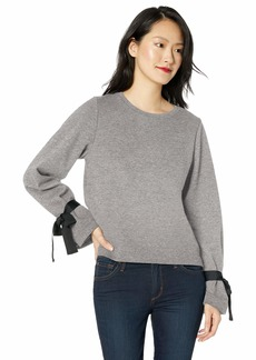 J.Crew Mercantile Women's Plus Size Sweatshirt with Tie-Sleeve