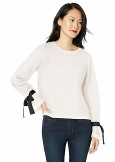 J.Crew Mercantile Women's Plus Size Sweatshirt with Tie-Sleeve
