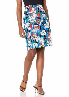J.Crew Mercantile Women's Printed Basketweave Pencil Skirt